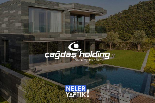 Çağdaş Holding Web Site Tasarımı